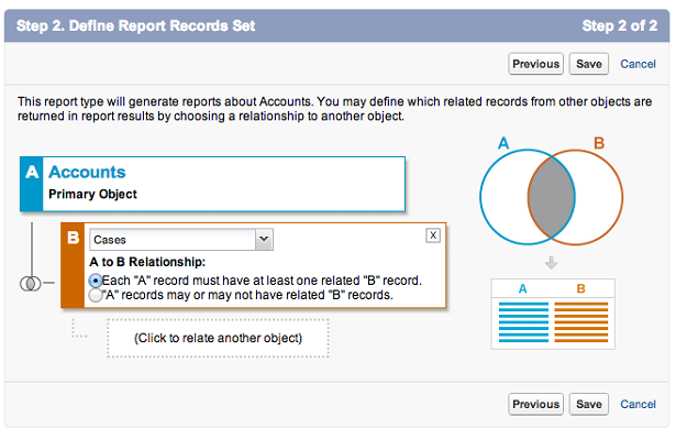Step Two: Create Report Type
