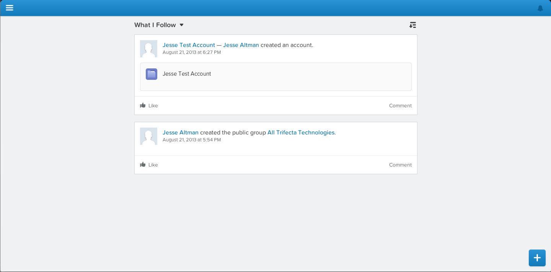 Working with Salesforce1 on the Desktop   Jesse Altman